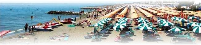 Caorle pláž